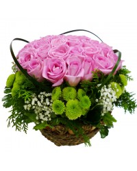 Flower Lady Basket